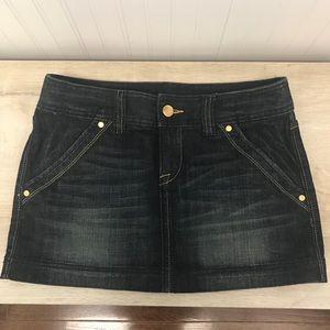 Express Jean Skirt - WORN ONCE